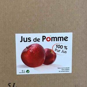 BIB Jus de pomme 5 L