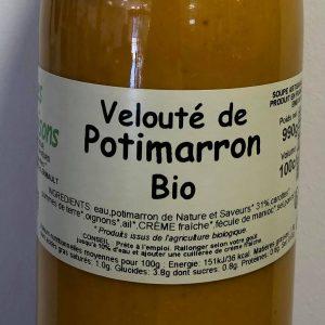 VELOUTE DE POTIMARRON BIO 1L